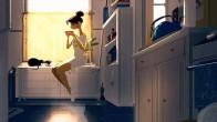 Amerikalı İllüstrasyon Sanatçısından 'Kedisiyle Yaşayan Kadınlar' Temalı 35 Çalışma