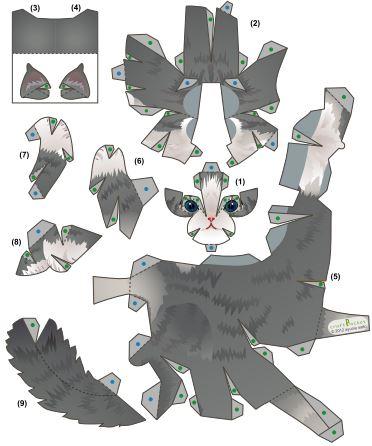 Оригами из бумаги патрика